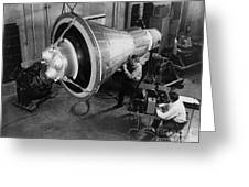 Engineers Inspect And Test Greeting Card