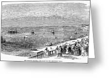 England: Brighton, 1853 Greeting Card
