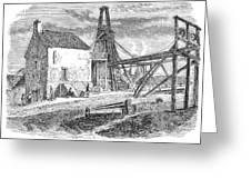 England: Coal Mining Greeting Card