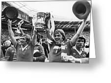 England: Fa Cup, 1977 Greeting Card