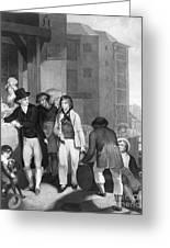 England: Merchant, 1800 Greeting Card