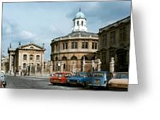 England: Oxford University Greeting Card