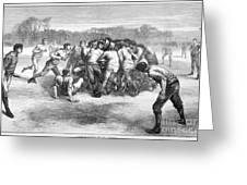England: Rugby (1871) Greeting Card