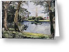 England: Salisbury Greeting Card