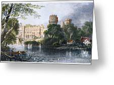 England: Warwick Castle Greeting Card