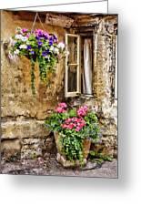 English Cottage Greeting Card