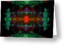 Enigma 7 Greeting Card
