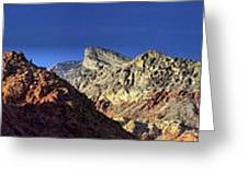 Enjoying Red Rock Canyon Greeting Card