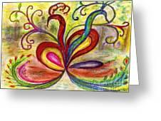 Entagled Love Greeting Card by Mary Sedici