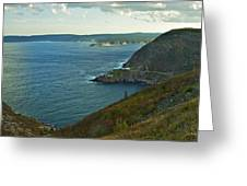 Entrance To St. John's Harbour Greeting Card