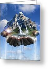 Environmental Care, Conceptual Image Greeting Card by Smetek