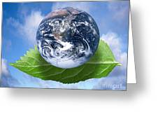 Environmental Issues Greeting Card by Victor de Schwanberg  and Photo Researchers