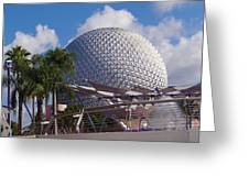 Epcot Dome Greeting Card