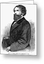 Ephraim Squier (1821-1888) Greeting Card