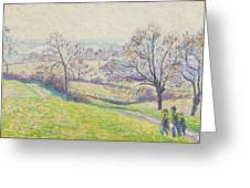 Epping Landscape Greeting Card by Camille Pissarro