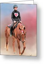 Equestrian Competition Greeting Card