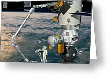 Era Robotic Arm Of The Iss, Artwork Greeting Card