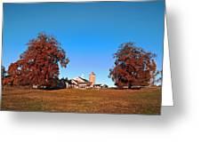 Erdenheim Farm In Autumn Greeting Card