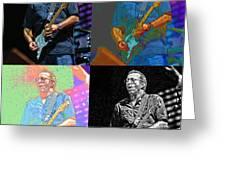 Eric Clapton Pop Greeting Card