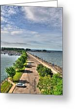Erie Basin Marina Summer Series 0001 Greeting Card