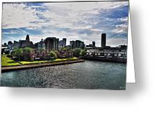 Erie Basin Marina Summer Series 0002 Greeting Card