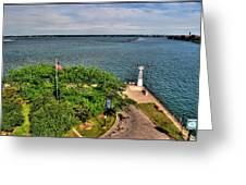 Erie Basin Marina Summer Series 0004 Greeting Card