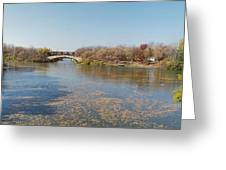 Erie Canal Panorama Greeting Card