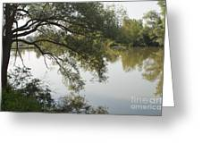 Erie Canal Turning Basin Greeting Card