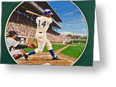 Ernie Banks Greeting Card
