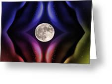 Erotic Moonlight Greeting Card