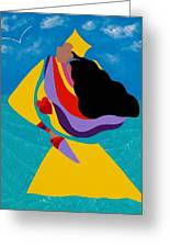 Erzulie Haitian Goddess Of Love Greeting Card