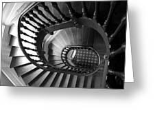 Escalier  Greeting Card