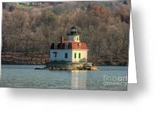 Esopus Meadows Lighthouse I Greeting Card
