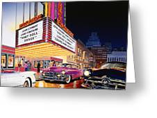Esquire Theater Greeting Card