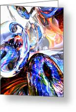 Essence Of Inspiration Abstract Greeting Card