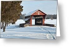 Essenhause Covered Bridge Greeting Card