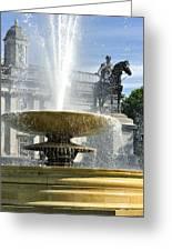 Essential Elements Of Trafalgar Square Greeting Card