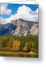Estes Lake Autumn View  Greeting Card