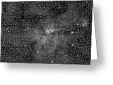Eta Carinae Nebula, Cassini Image Greeting Card