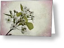 Etched In Love Greeting Card