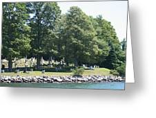 Eternal Waterfront Property Greeting Card