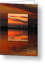 Ethereal Sunrise In Sunrise Greeting Card