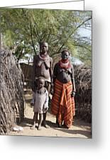 Ethiopia-south Tribeswomen No.1 Greeting Card