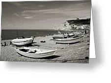 Etretat Beach Greeting Card
