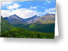 Euphoric Valleys Greeting Card
