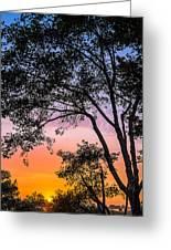 Eureka Sunset Greeting Card