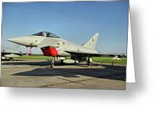 Eurofighter Ef2000 Typhoon Greeting Card