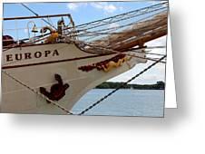 Europa Greeting Card