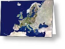 European Union Greeting Card