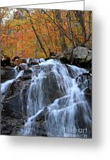 Evans Notch Waterfall Greeting Card
